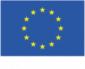 european flag-white text